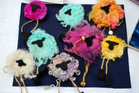 I love these woolly sheep because they are daft! Made by sanjiboo.boo7@gmail.com
