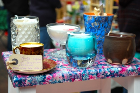 Vintage and bespoke candles www.finecandles.co.uk