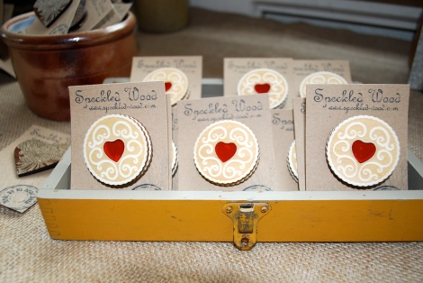 Jammy Dodger anyone? www.speckled-wood.com