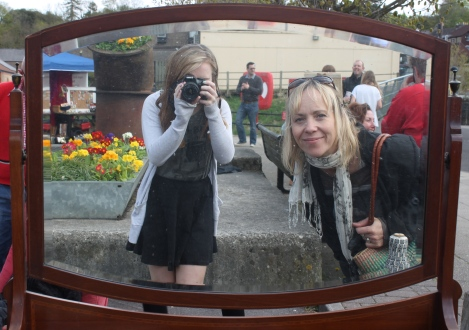 My daughter and photographer Lili!